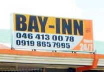Contact number of Bay Inn.