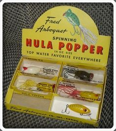 Old, Antique, Vintage Fishing Lures. They are still effective lures.