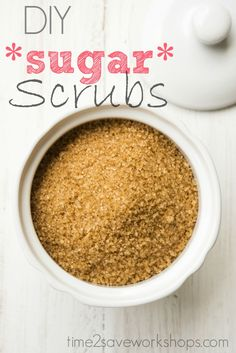 DIY Sugar Scrubs rec