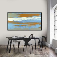 THE SKY ROAD, Acrylic painting by Lena Stanis | Artfinder