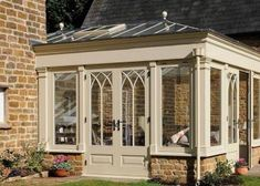 farmhouse orangery exterior right