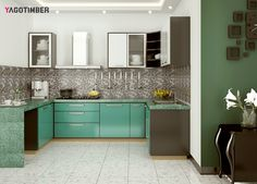 Get Latest Modular Kitchen Interior Ideas In Delhi NCR! Only At  Yagotimber.com #
