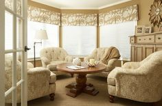 Bay Window Treatment Ideas Design, Pictures, Remodel, Decor and Ideas