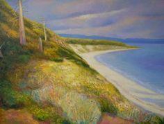 "Saatchi Art Artist Ieva Baklane; Painting, """"Savary Island"""" #art"