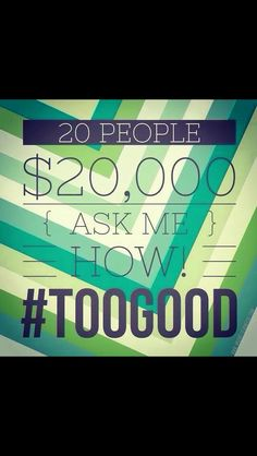 Ask me how?