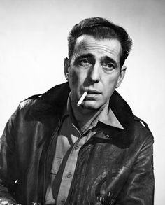 MR HUMPHREY BOGART He might be best known for the white tuxedo he wore in Casablanca, or Sam Spade's rumpled suits in The Maltese Falcon, but in Tokyo Joe Mr Bogart played an ex-serviceman who returns to the Japanese capital after WWII in search of his wife, and his old businesses. The drapey suits Mr Bogart wears in the film now look rather dated, but the way that he wears his relaxed-fitting flight jacket is anything but.