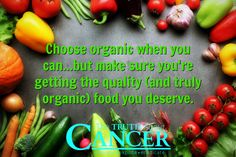 You need to choose organic whenever possible...but you should also get what you pay for every time! Learn more about the difference between organic foods and non-organic. Please re-pin to help us spread the truth & educate others! // The Truth About Cancer