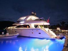 74' Motor Yacht Viaggio. BVI Luxury Yacht Charters on Motor Yacht ...