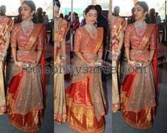 Exclusive Collection of Indian Celebrity Sarees and Designer Blouses Saree Blouse Patterns, Designer Blouse Patterns, Saree Blouse Designs, Indian Bridal Fashion, Indian Wedding Outfits, Indian Outfits, Indian Clothes, Indian Weddings, Classy Outfits For Women