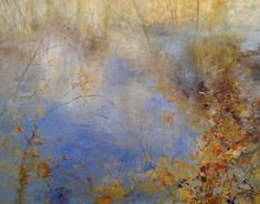 Pond On The Edge, 48  x 60, oil on canvas, 2013
