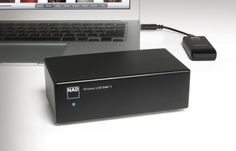 Easy to use wireless USB DAC, streaming music from pc to Hi-Fi system