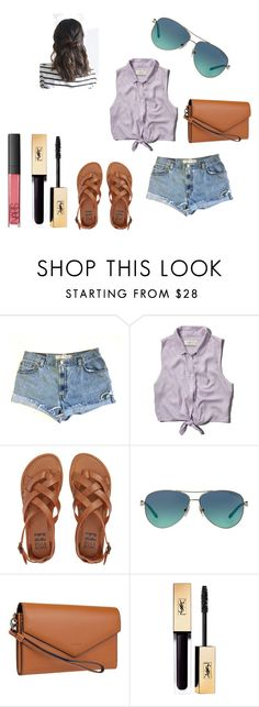 """""""good times"""" by mmmescher on Polyvore featuring Levi's, Abercrombie & Fitch, Billabong, Tiffany & Co., Lodis and NARS Cosmetics"""