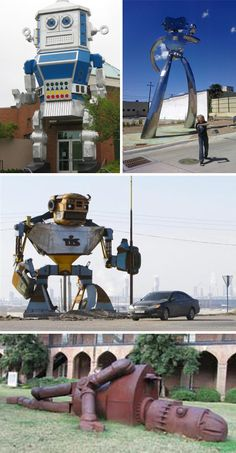 Giant Robot Statues: 19 Stunning Images Of Our New Overlords   WebUrbanist