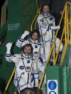 Expedition 35 prima del lancio della Soyuz tma 08m