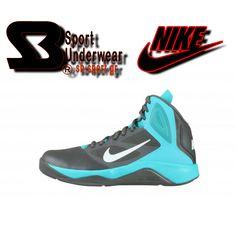 Nike Dual Fusion II Το αντρικό μποτάκι μπάσκετ  Nike Dual Fusion II σε μαύρο χρώμα με  γαλάζιες λεπτομέρειες, αποτελείται από συνθετικό δέρμα και εσωτερική υφασμάτινη επένδυση με μαξιλαράκια. Είναι διάτρητο για καλύτερη αναπνοή του ποδιού και διαθέτει μαλακό πάτο και πατενταρισμένη αερόσολα, για εξαιρετική άνεση και αντικραδασμική προστασία. Η καμπύλη στην εξωτερική σόλα, εξασφαλίζει καλύτερη στήριξη ενώ το σχήμα ψαροκόκκαλου, γερό κράτημα. Κατάλληλο για γήπεδα και βόλτες με στύλ.