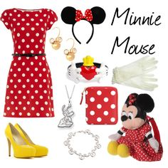 Minnie Mouse outfit  @Amber Wicknick