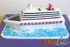 Luxury Cruise Ship Cake - wish I had time to make this one!