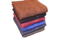 24 new white cotton economy kitchen hand towels utility grade 16x26 blach safe