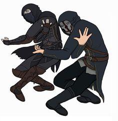 Dishonored & Thief Corvo & Garrett