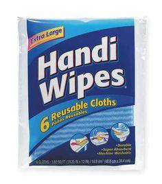 Lot of 3 packs New Clorox Handi Wipes Multi-Use Reuseable Cloths,6 ct per pack #Clorox