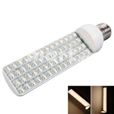 E27(E/G601) 9W 56 LED Piranha Lamp Beads 3100K Warm White Light Cross Lamp (230V),$10.52