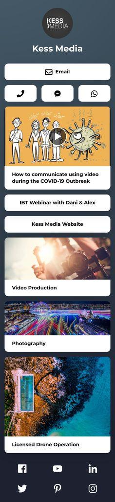 @alexkess Video Websites, Landing, Photographers