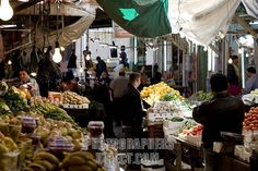 Suq Khudra - Vegetable Market. Downtown, Amman. I have an almost identical photo taken from the same position