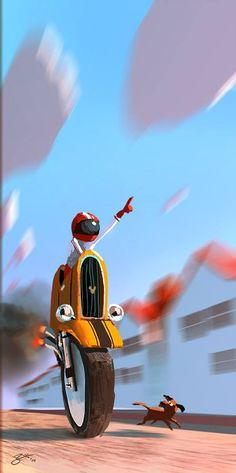 Goro Fujita 30 min speed painting