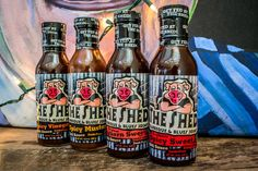 The Shed BBQ Store - Sauce Bundle, $25.00 (http://store.theshedbbq.com/sauce-bundle/) Mustard BBQ is our favorite.