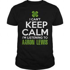 Awesome Tee AARON LEWIS Patricks Day 2017 Shirts & Tees