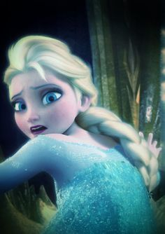Elsa's shock after Hans told to not be the monster that they fear she is.