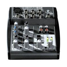 DJ Music Mixers Audio Sound Home Studio Recording Microphone Band Equipment Gear
