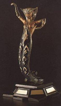 Erte (Romain de Tirtoff) http://www.artbrokerage.com/artist/Erte-Romain-de-Tirtoff/La-Jalousie-Sculpture-92