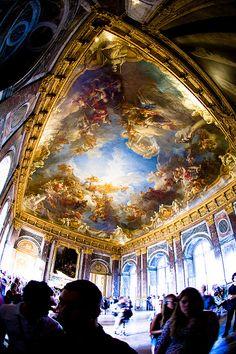 Salon d'Hercules - Les plafonds des grands appartements - 09/08/2008 - Château de Versailles - France, via Flickr.
