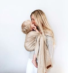 Wildbird linen ring sling baby carrier