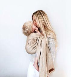6ee036727a57 Wildbird linen ring sling baby carrier Être Parent, Portage, Allaitement, Porte  Bébé Tissu