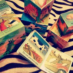 wonderful storybook inspiration from 5 stackable boxes. #storybook #children #inspiration