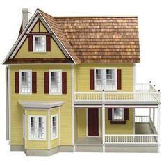 Victoria's Farmhouse Dollhouse Kit