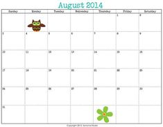 Free printable 3 month calendar in pdf format five colors for Girl scout calendar template