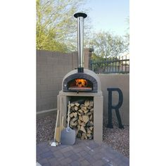 wood Kitchen Outdoor Pizza Ovens is part of Pizza oven outdoor - Welcome to Office Furniture, in this moment I'm going to teach you about wood Kitchen Outdoor Pizza Ovens Wood Burning Oven, Wood Fired Oven, Wood Fired Pizza, Wood Oven, Rustic Backyard, Large Backyard, Sloped Backyard, Best Outdoor Pizza Oven, Outdoor Grilling