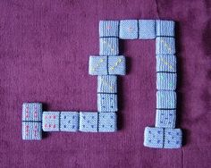 Knitted Dominoes | 19 Impossibly Clever Knitting And Crochet Patterns