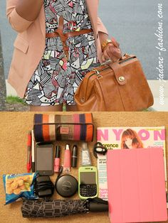 Cute bag, cute style from the owner, and super cute case for an iPad. I need one for my kindle.