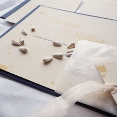 - sunshine on a rainy day - Our beautiful new Meredith wedding stationery.