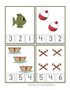 Gone Fishing Printable pre-k Summer Preschool Activities, Preschool At Home, Preschool Printables, Preschool Math, Preschool Worksheets, Kindergarten Math, Teaching Math, Math Activities, Book Projects