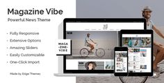 Download Magazine Vibe v1.7 - A Powerful News & Magazine Theme Nulled Latest Version