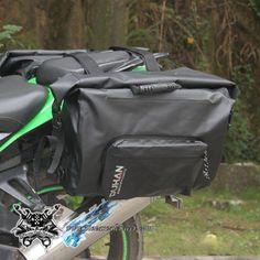 Juego Alforjas Sumergibles Moto Color Negro DUHAN -- 138,93