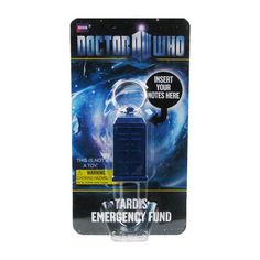 Doctor Who TARDIS Secret Bank Key Chain - Underground Toys - Doctor Who - Key Chains at Entertainment Earth