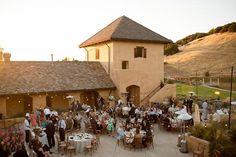 Stunning views at Nicholson Ranch Winery in Sonoma.