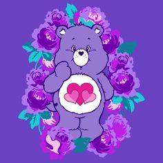 Twitter Bear Wallpaper, Cute Wallpaper Backgrounds, Aesthetic Iphone Wallpaper, Cute Wallpapers, Disney Phone Wallpaper, Cellphone Wallpaper, Grumpy Care Bear, Collage Des Photos, Care Bear Party