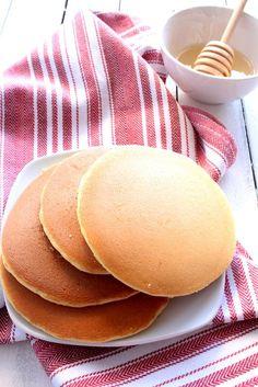 Pancake senza latte e senza glutine.
